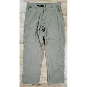 Mountain Hardwear Mens Belted Tan Hiking Pants M